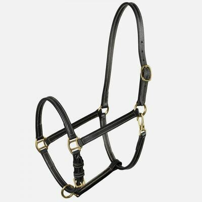 Leather Stable Halter - Pony Size