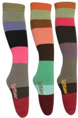 Striped Tall Boot Socks