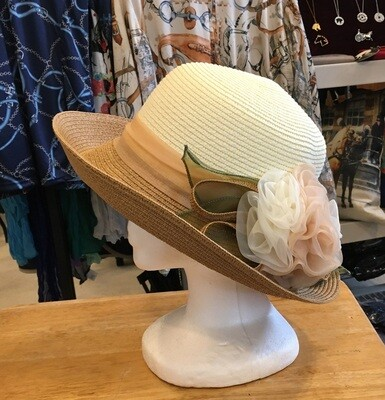 Embellished Summer Hat