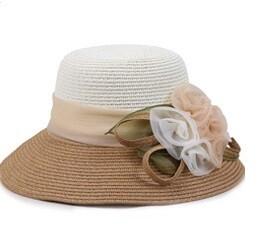Embellished Summer Hat