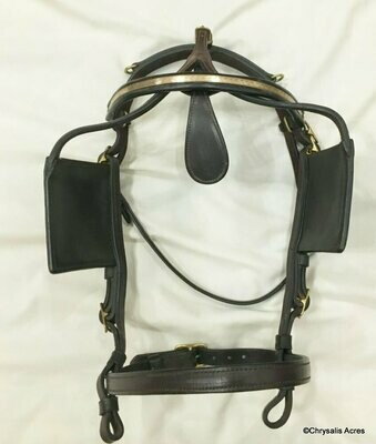 LaSalle Horse Sz Leather Training Harness