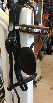 Two-Tone Leather/SS Harness