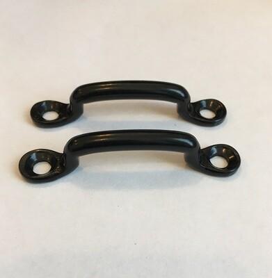 Footman Loops  Black, 1.25