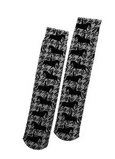 Ultra Thin Boot Socks - Equestrian Designs