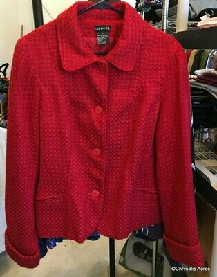 Red Jacket Size 18