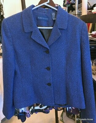 Royal Blue Jacket Size 12