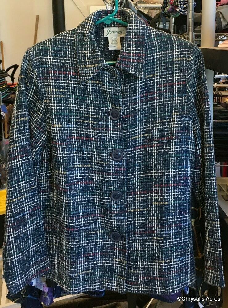 Blue -w/Multi Color Jacket Size M