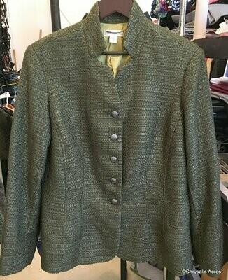 Loden Green Blazer Size 16