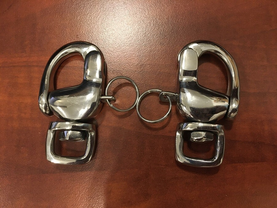 Mini Size Breeching / hold back Shackle