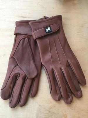 Deerskin Carriage Driving Gloves