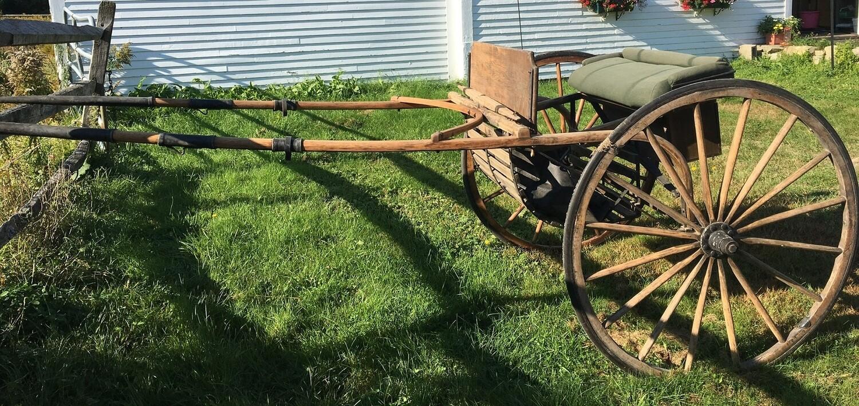 Wooden Road Cart - Cob Size