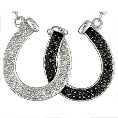 Linked Horseshoes Necklace