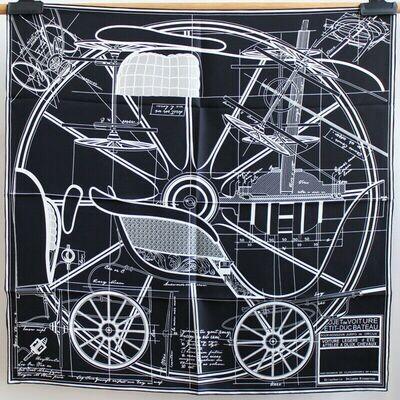 Scarf - Carriage Blueprint