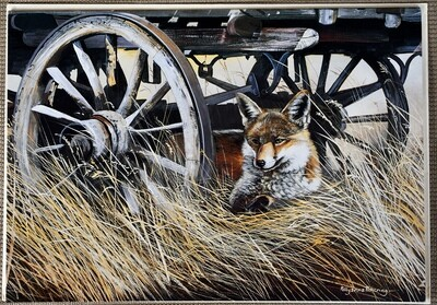 Fox and Carriage Card