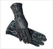 SSG Long Cuff Leather Show Gloves
