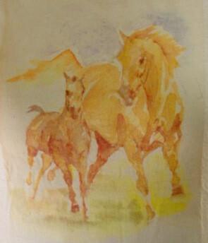 Watercolor Horse T-shirt