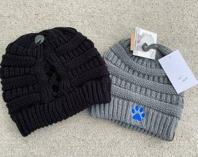 Elmwood- CC Beanie High Pony Knit Hat