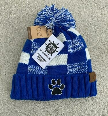 Elmwood- CC Beanie Plaid Sticking Hat