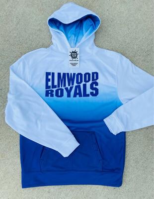 Elmwood- Ombre Moisture Wicking Hoodie