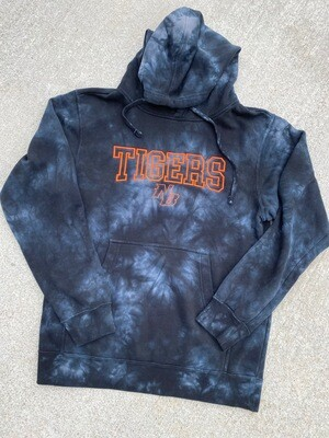 NB-Embroidered Soft Style Tie Dye Hoodie