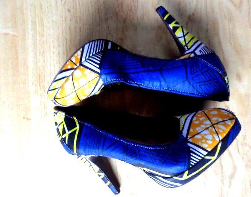 Handwoven Fabrics Stilettos