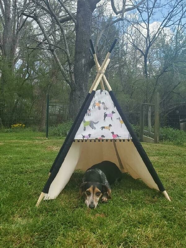Pet Teepees, Pet Tents, Cotton Canvas Pet Tent