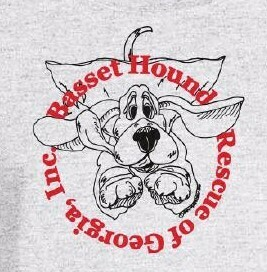 BHRG Flying Basset Short SleeveUnisex Tee (S-5X) Shipping Included in Price