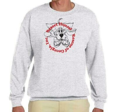 BHRG Flying Basset Long Sleeve tee shirt (unisex)