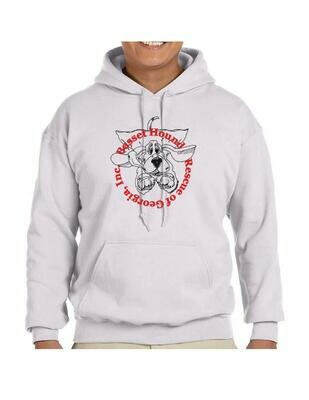 BHRG Flying Basset Pullover Hoodie (S-3X) Shipping Included in Price