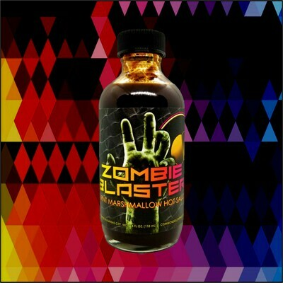 ZOMBIE BLASTER: Burnt Marshmallow Hot Sauce, 4 oz.
