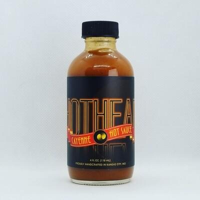 HOTHEAD: Cayenne Pepper Sauce, 4 oz.