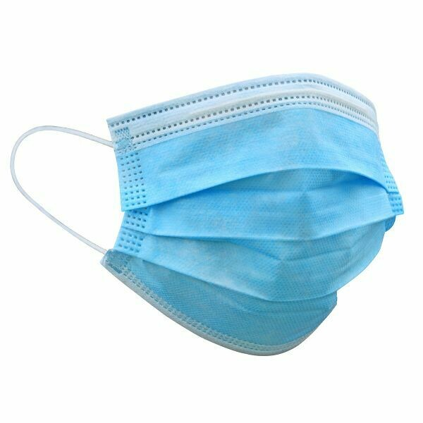Hygienemaske blau pro Stück CHF 0.60 Hygienemasken in Box à 50 Stk. CHF 30.00