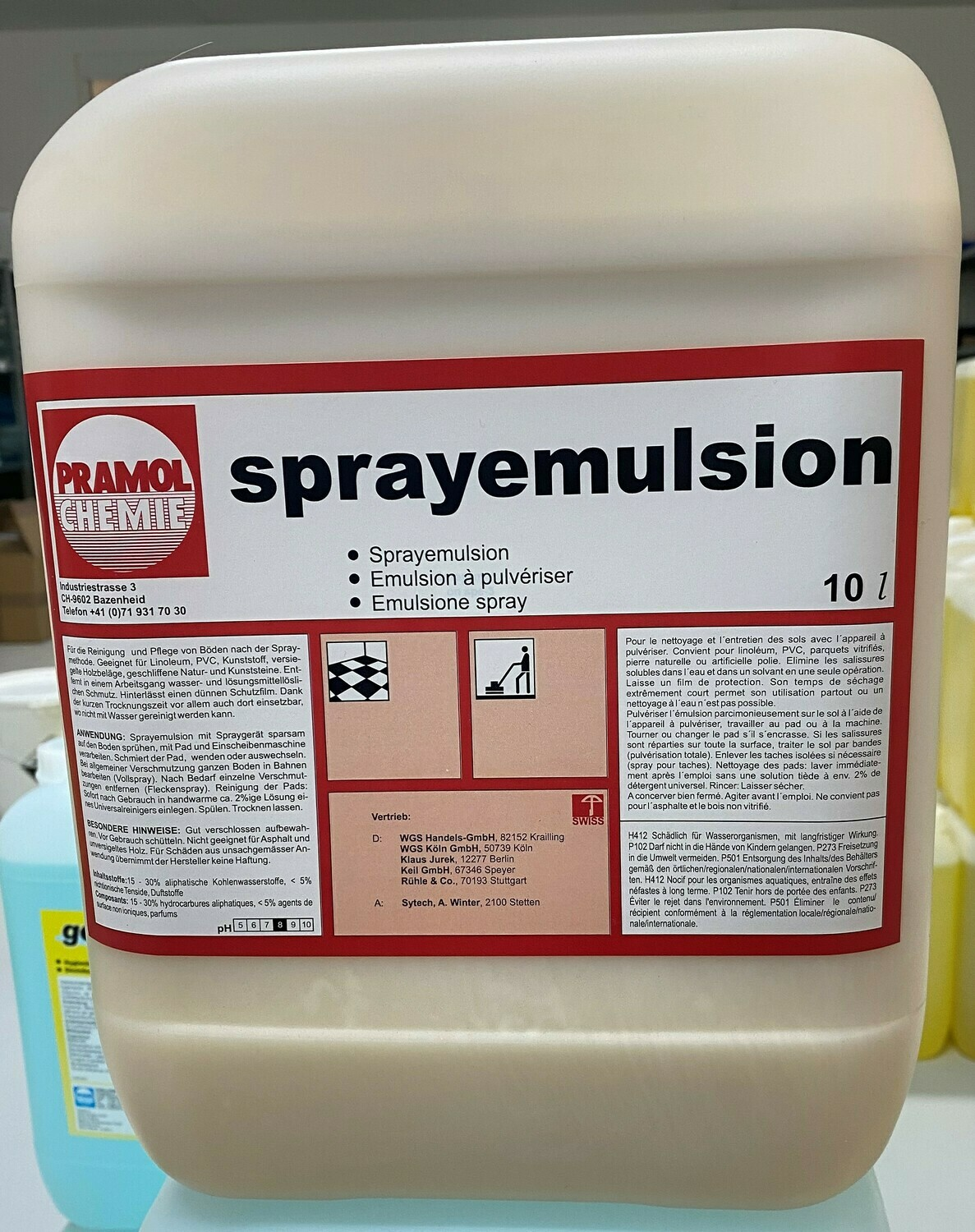 Spray-Emulsion 10 l
