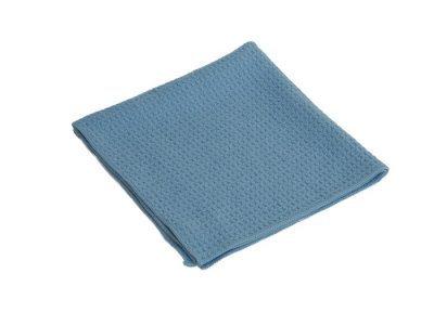 Microfaser-Waffeltuch blau