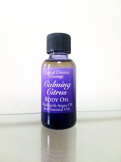Calming Citrus Body Oil