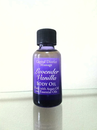 Lavender Vanilla Body Oil