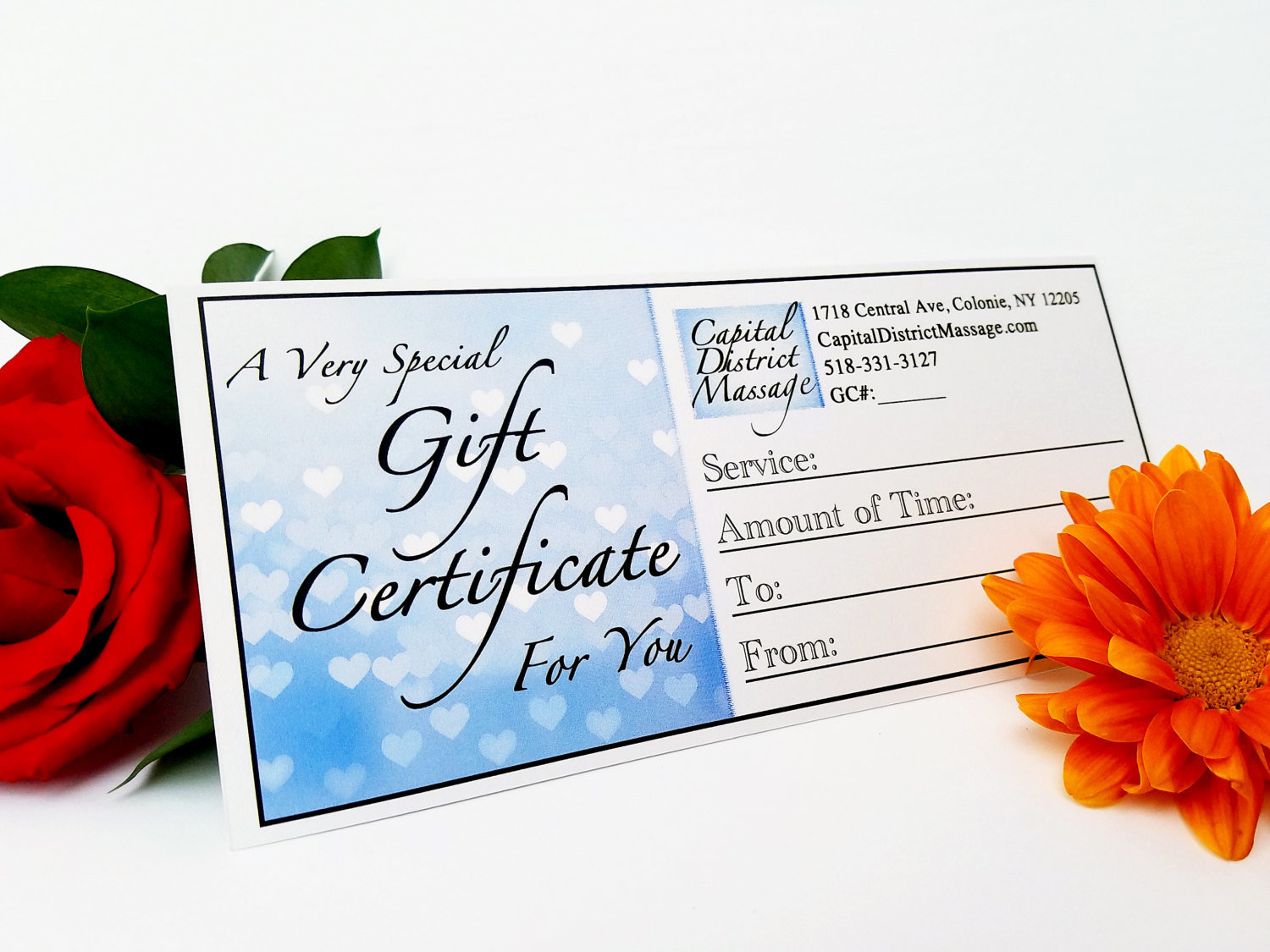 Pregnancy Massage Gift Certificate