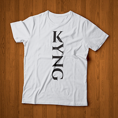 KYNG Male Black/White Tee
