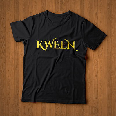 KWEEN Black/Gold Tee ROYALTY Series