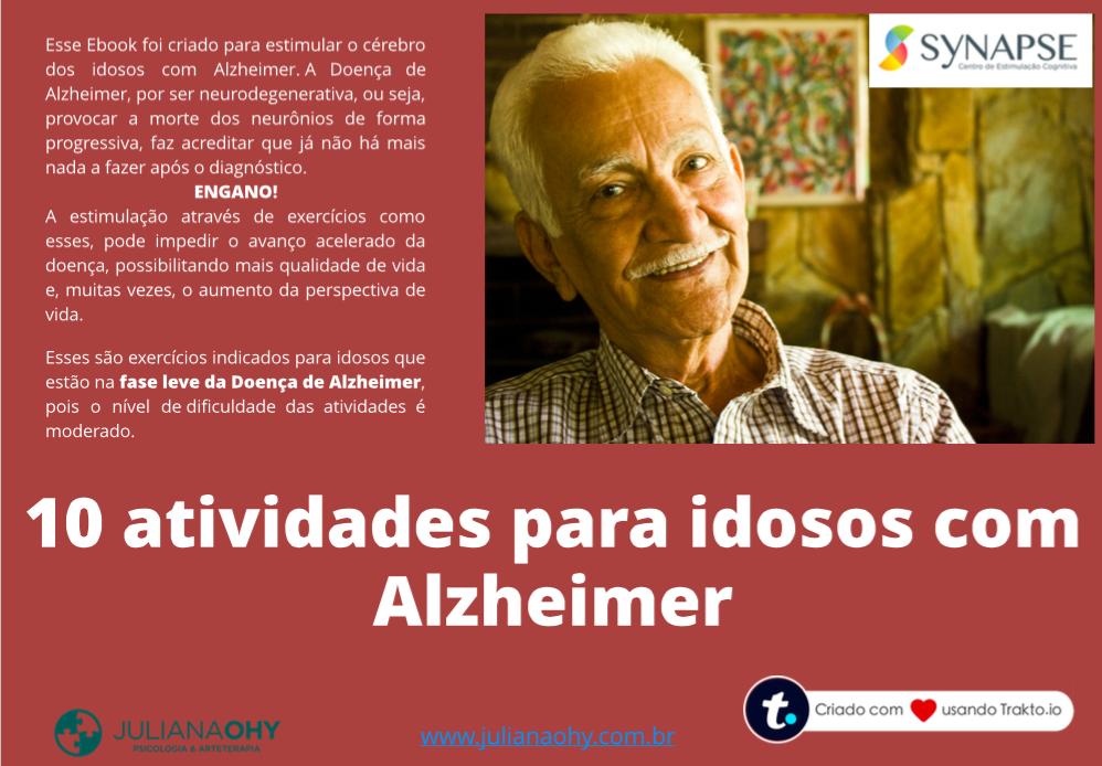 10 Atividades para idosos com Alzheimer PDF