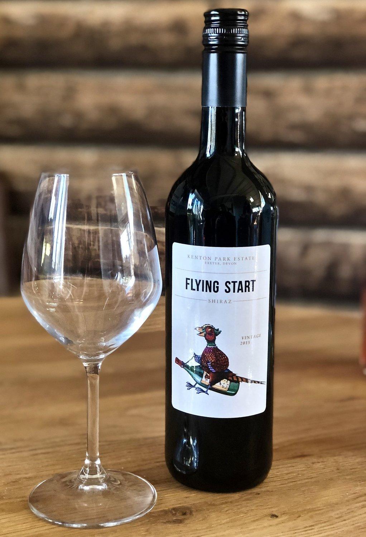 """""""FLYING START"""" - RED WINE - SHIRAZ"""