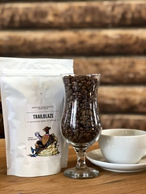 """FULL OF BEANS"" - TRAIL BLAZE - COFFEE BEANS"