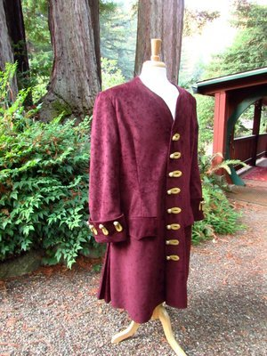 Handmade 1700s Era Pirate Coat
