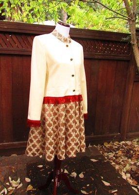 Red Fringe Cowboy Coat