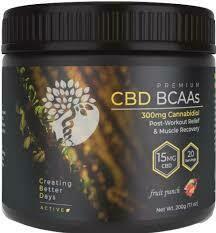 CBD BCAAs Fruit Punch – 300mg