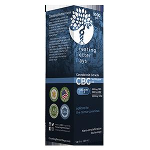 CBG Tincture 1000MG – 500CBD/500CBG