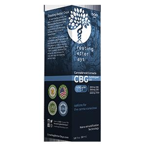 CBG Tincture 500MG – 250CBD/250CBG