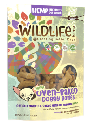 CBD Mini Dog Bone Treats