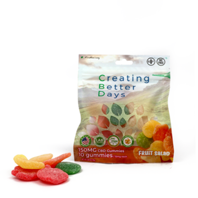 CBD Gummy Mixed Fruit - 150mg