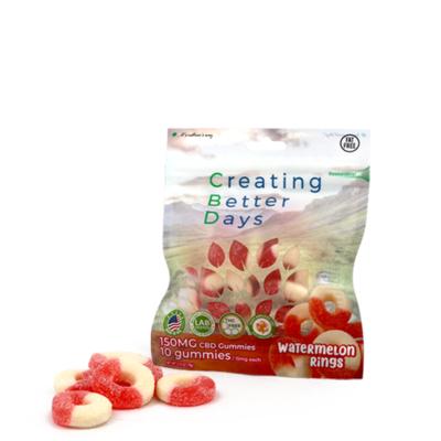CBD Gummy Watermelon Rings - 150mg